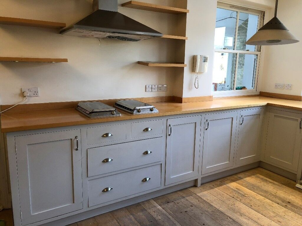 shaker style kitchen kitchens cabinets solid wood units for sale in melbourn