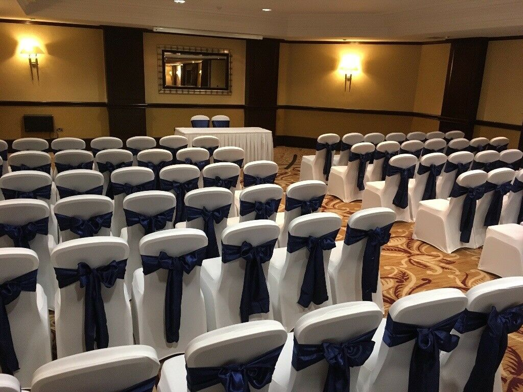 hire chair covers glasgow kneeling posture wedding and event cover also available donut