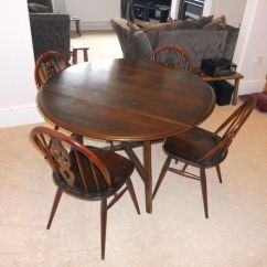 Dining Room Table And Chairs Gumtree 6 Seat Ercol 4 In Matlock