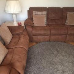 Washing Faux Suede Sofa Covers Black And White Leather Uk Harveys Furniture Tan Bel Air Suite 3 Seater 2