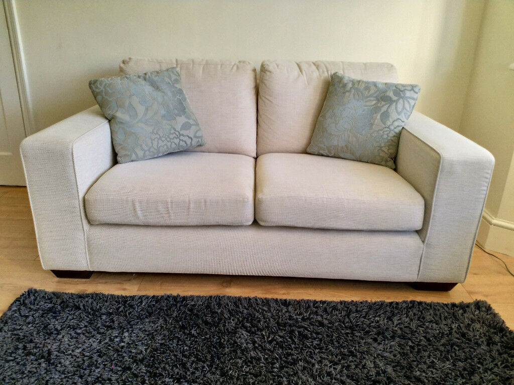 2 seater sofa bed furniture village 50s available in baldock