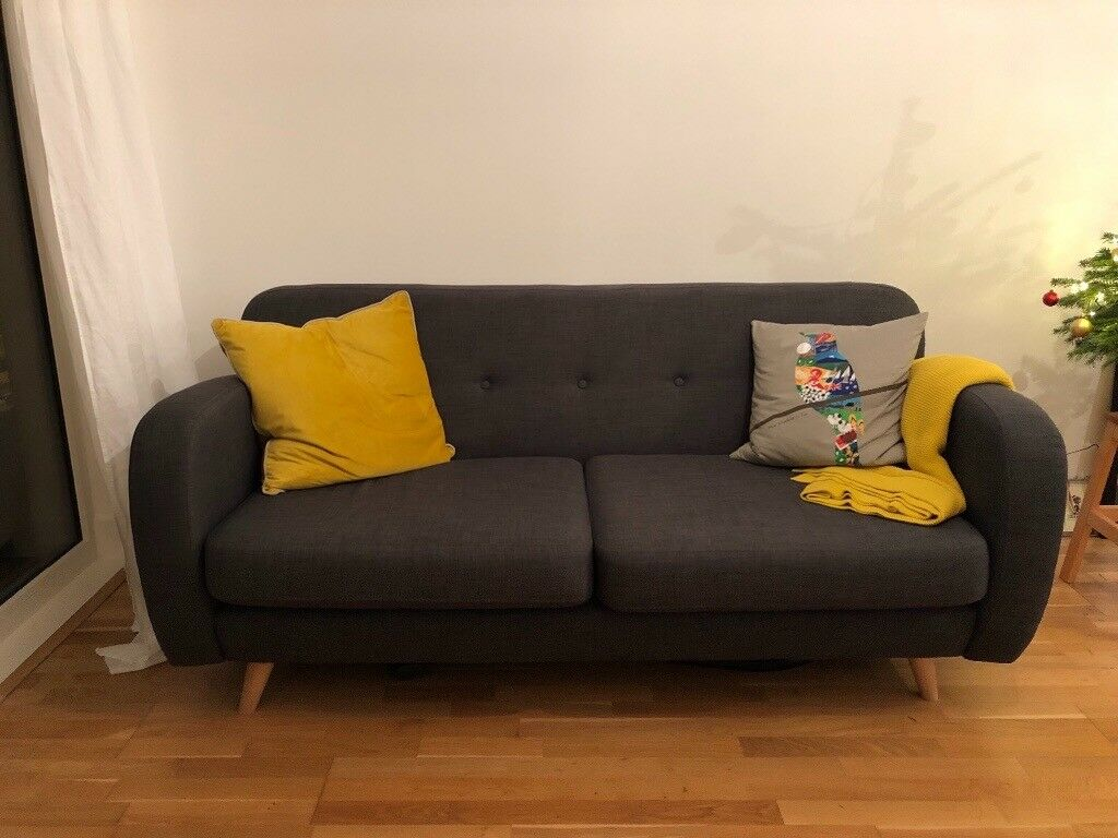 bluebell sofa gumtree ashley cover dfs spritz 3 seater in hackney london