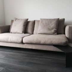 3 Sided Sectional Sofa Garden Covers Uk Camerich Lazytime Three Seat With Narrow Leather Side