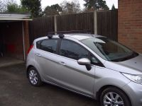A ford Fiesta roof rack