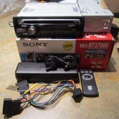 Sony Xplod Radio 6 Pin Schraubanschlus Mex Bt3700u Car Cd Mp3 Bluetooth Usb Aux In