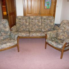 Posture Chair Gumtree Plaid Wingback Chairs Ercol 39saville 39 Fine Quality Upholstered Lounge Suite