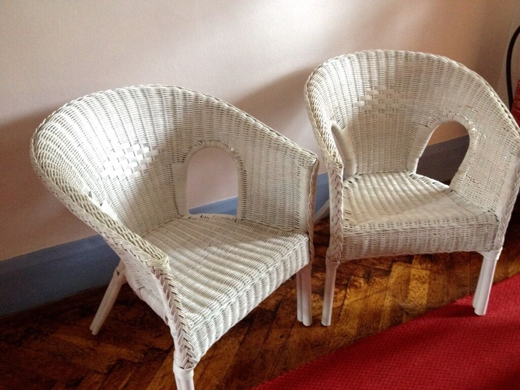 old wicker chairs uk vintage high white in east grinstead west sussex gumtree