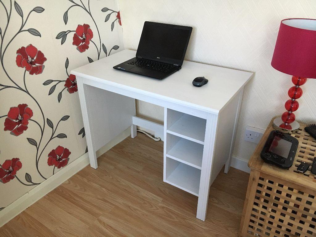 IKEA BRUSALI Computer Desk Table In Paisley