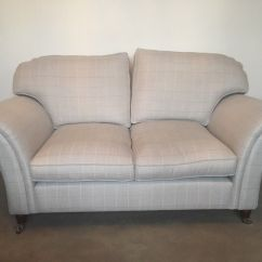 Recliner Chairs Gumtree Gym Equipment Chair Laura Ashley Mortimer 2-seater Sofa In Silver Elmore Check - Immaculate | Sandbach, Cheshire ...