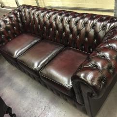 Chesterfield Sofa Gumtree Ni Value City Furniture Queen Sleeper Original Vintage Suite Professionally