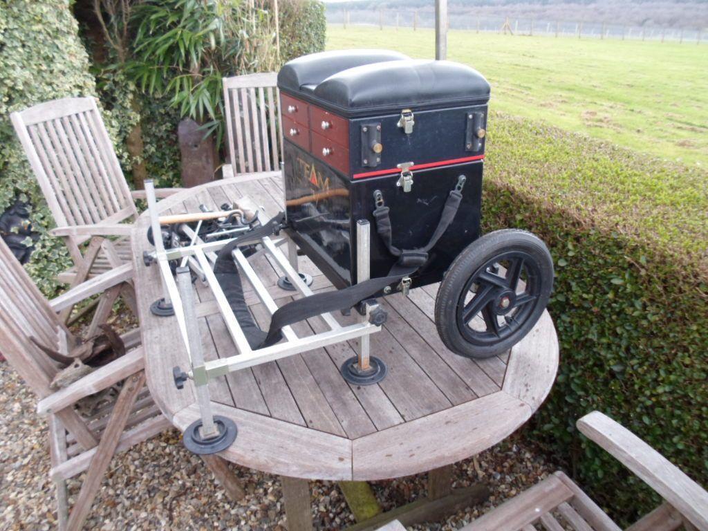 fishing chair box kids table chairs wood daiwa boss seat complete in kings lynn norfolk