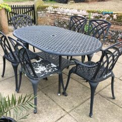 Metal Garden Table Chairs 1950 Kitchen And Cast Furniture Set In Norwich Norfolk