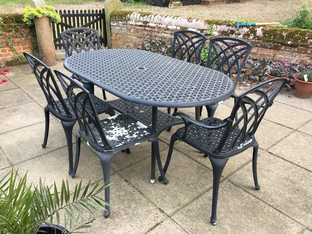 Garden Table And Chairs Cast Metal Garden Furniture Set In Norwich Norfolk