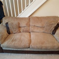 Brown Fabric Corner Sofa Dfs American Leather Hannah Queen Sleeper 3 Seater In Poole Dorset Gumtree