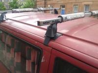 Volkswagen T4 / transporter roof rack with bodyglove pads ...