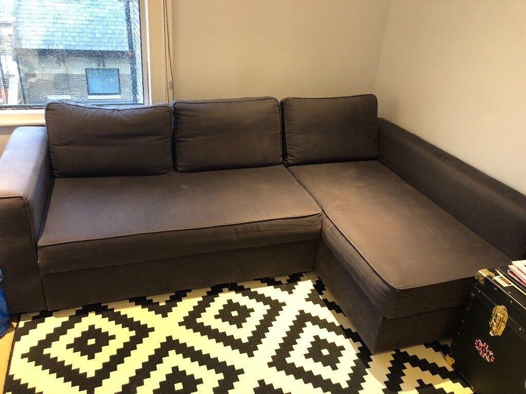 corner sofa bed london gumtree sectional craigslist northern va ikea grey in hammersmith