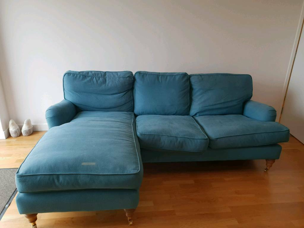 bluebell sofa gumtree leather suitable for dogs blue chaise corner in london