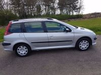 PEUGEOT 206 SW 2.0 HDI S DIESEL MANUAL ESTATE 1 OWNER F/M ...