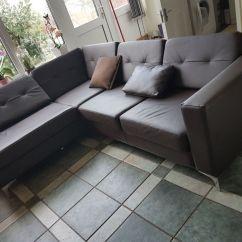 Argos Brooklyn Sofa Large L Shaped Designs India Homebase Left Hand Corner In
