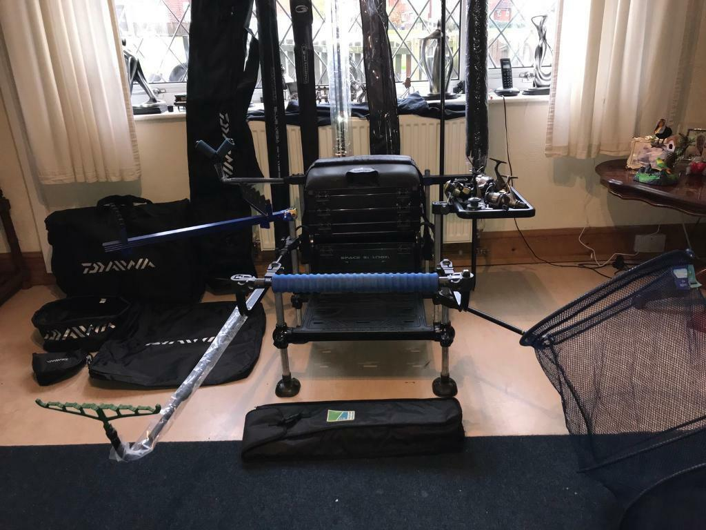 fishing chair setup lifeform office review full match set up in bolton manchester gumtree