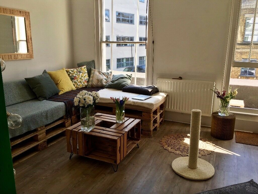 pallet sofa for sale ashley furniture bed sleeper couch in kentish town 11 pallets 3 waterproof cushions 2 back