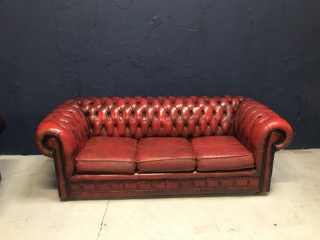 chesterfield sofa gumtree ni gun safe original 3 seater in belfast city