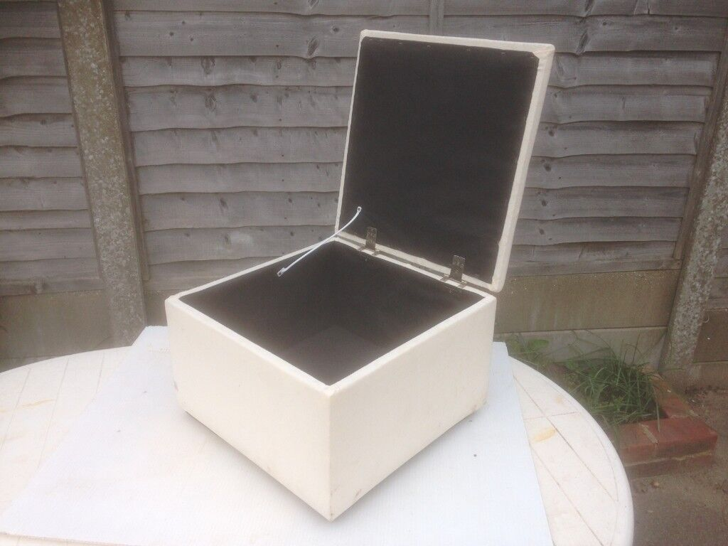 bedroom chair gumtree ferndown patio table with swivel chairs stool ottoman storage box seat in dorset