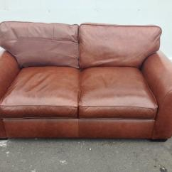 Bradford Council Sofa Removal Make Your Own Cover Without Sewing Laura Ashley 2 Seater Settee In Brown Heritage Leather L K