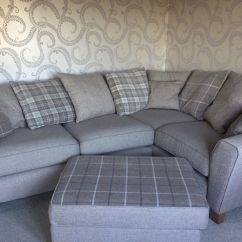 Tartan Chesterfield Sofa Habitat Re Upholstered In Plaid And