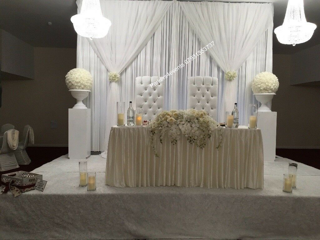 chair covers wedding london counter height directors catering throne stage sofa decor dance floor stationery cutlery in camberwell gumtree