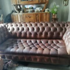 English Sofa Company Manchester Online Set In India 3 Seater Leather Chesterfield Ashington Northumberland