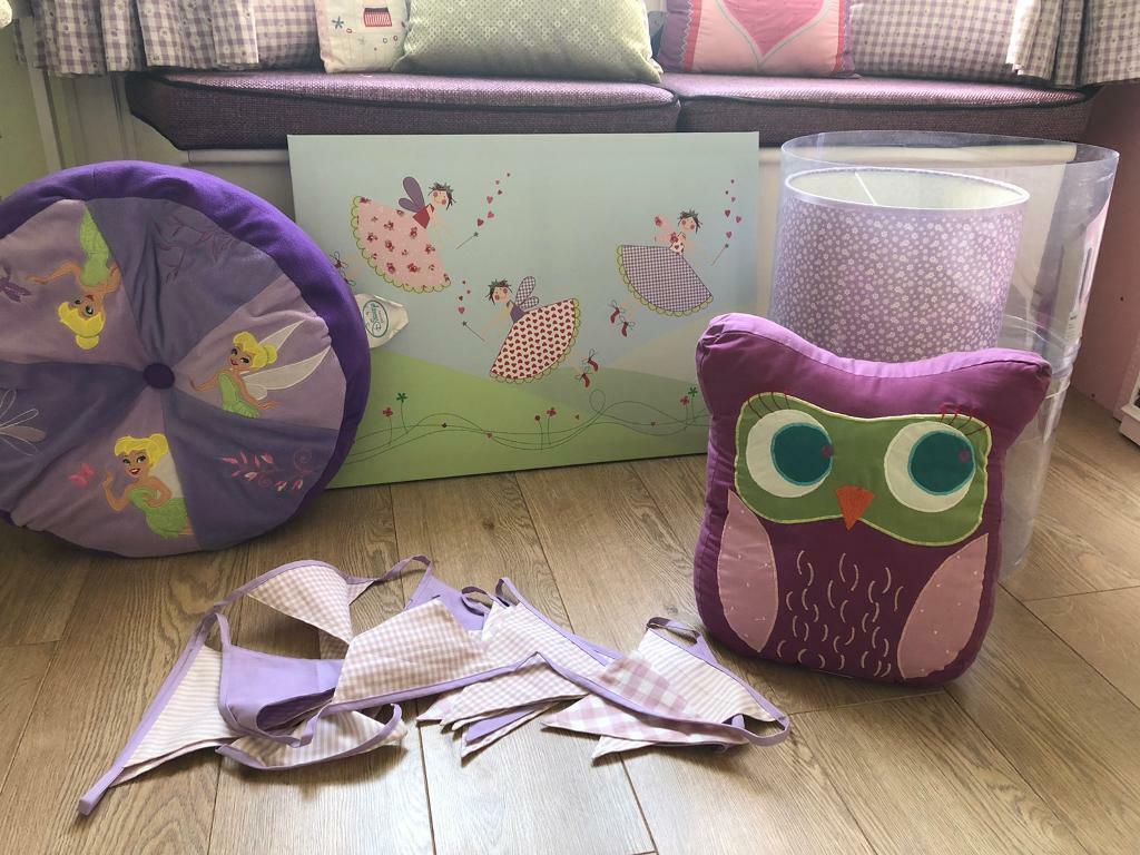 Girls Purple Pink Bedroom Accessories In Giffnock Glasgow Gumtree