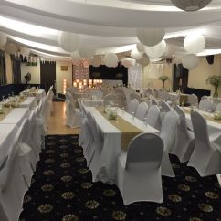 Wedding Chair Covers Tamworth Reupholster Office With Arms Decor Business Setup For Sale 1100 Quick In