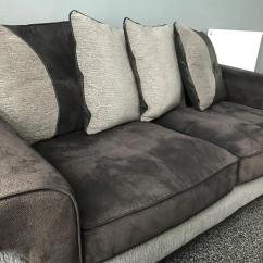Sofaworks Reading Number Microsuede Sofa Set Csl Works 3 Seater 2 Couch In Inverkip Inverclyde Gumtree