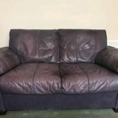 Plum Sofas Uk Bonded Leather Sofa Set 2 X Seater In Poole Dorset Gumtree