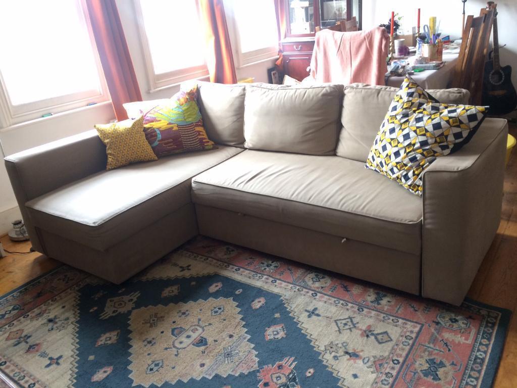 corner sofa bed london gumtree wooden designs catalogue ikea vilasund in forest hill