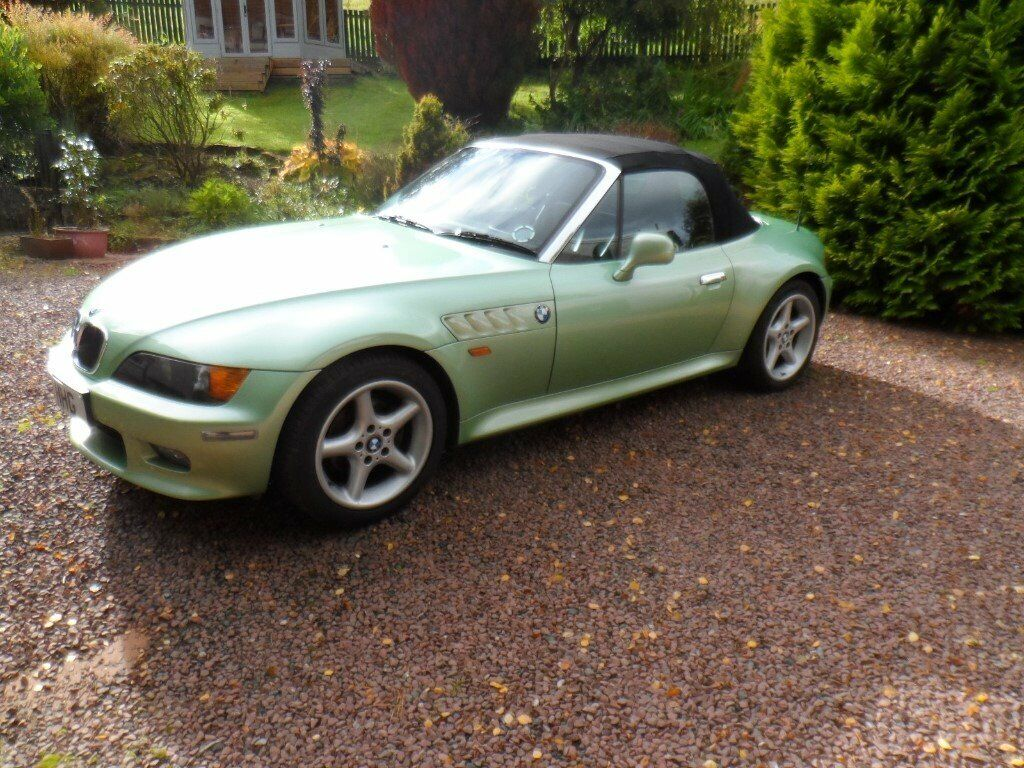 hight resolution of bmw z3 2 8 roadster manual palmetto green with black interior
