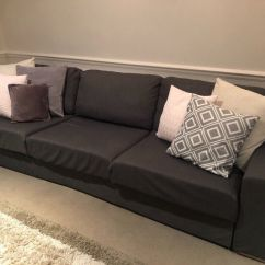 Sofa London Gumtree Grey Fabric L Shaped Large Free In Bromley