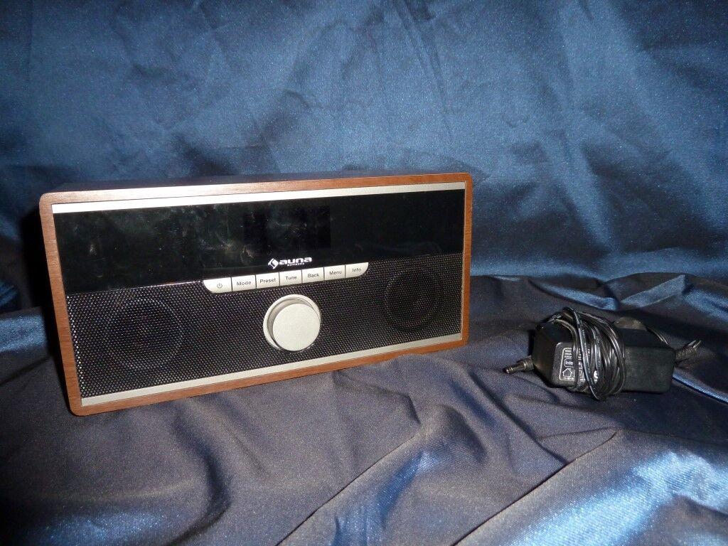 Auna Multimedia Internetradio Digitalradio DAB+UKW-Tuner DAB-Radio WLAN