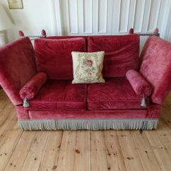 Knole Sofa Canvas Slipcovers For Sofas 2 X Downton Abbey Style Fantastic Condition