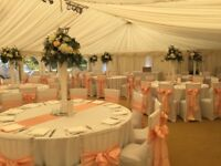 wedding chair covers pontypridd lazy boy swivel chairs sash hire gumtree and event cover centerpiece from 1 per with