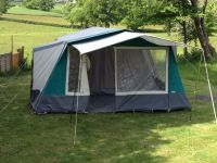 Cabanon Athena 6k berth Canvas Family Frame Tent | in Ryde ...