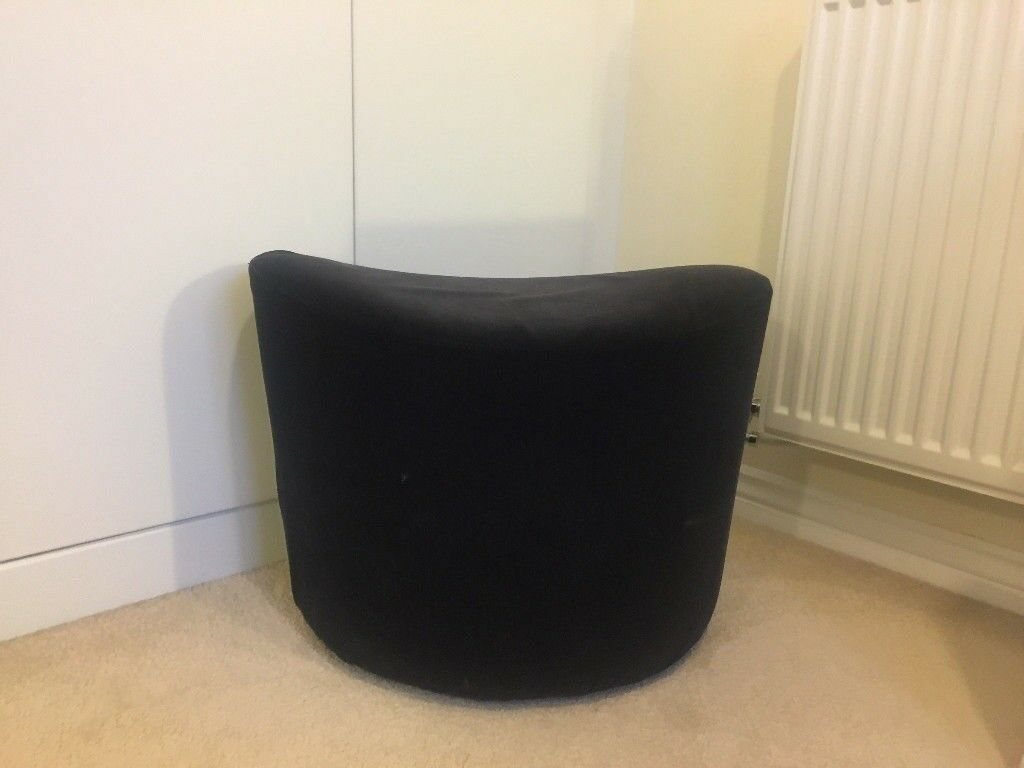 bauhaus swivel chair white office staples style velvet red and black pouffe stool rotherham sheffield