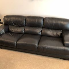 Tuscany 3 Seater Leather Sofa Carlyle Sectional Sofas Two And Three Brown Italian In East