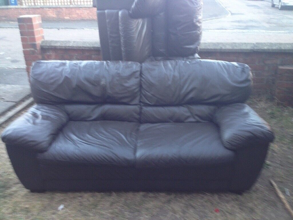 dark brown leather chair arne norell sofas in newcastle tyne and wear gumtree