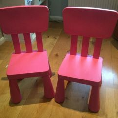 Childrens Chairs Ikea Stackable Plastic Lawn Mammut In Princes Risborough