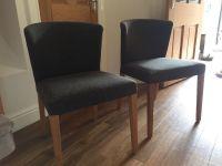 2 Habitat Valentina dining room chairs | in Edinburgh ...