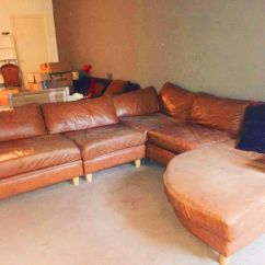 Corner Sofas Glasgow Gumtree Cornell Bonded Leather Curved Sofa Sectional Delivered In West End