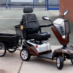Wheelchair Trailer Hon Ignition Task Chair Manual 2017 Kymco Maxer 8mph Large Mobility Scooter 43