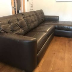 Leather Sofa Bed Pull Out La Z Boy Sleeper Air Corner With Storage In Chaise Lounge And